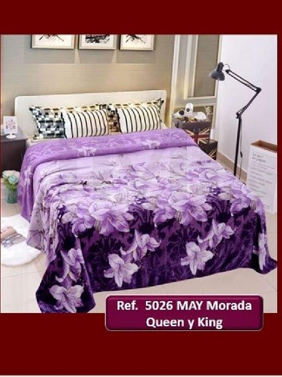 Cobija Q May26 Morado - Ref. 272 -5026 Q May26 Morado
