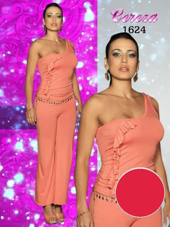 Enterizo Moda Cereza - Ref. 111 -1624