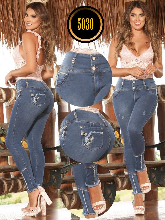 Jeans Levantacola Colombiano - Ref. 119 -5030 S