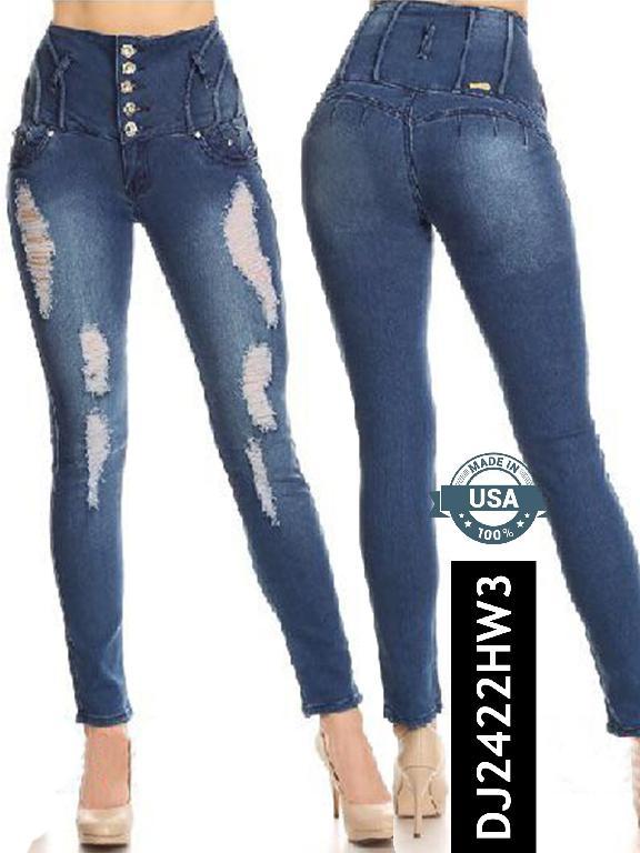 Jeans Levantacola - Ref. 108 -2422