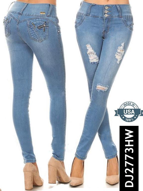 Jeans Levantacola - Ref. 108 -2773
