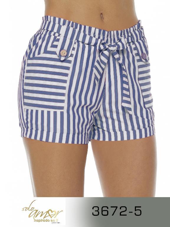 Short Colombiano - Ref. 246 -3672-5 Azul