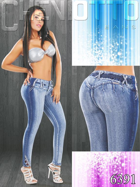 Jeans Dama Levantacola Cheviotto - Ref. 101 -6391