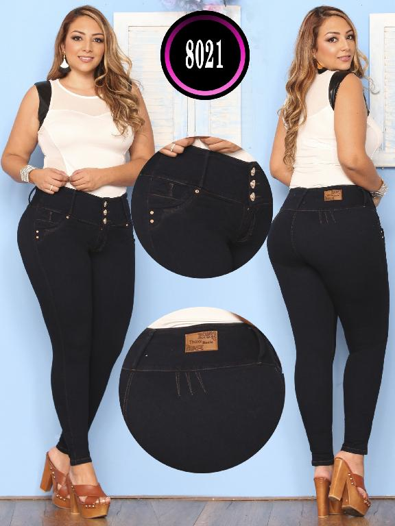 Butt lifting Jean - Ref. 119 -8021 Plus Size