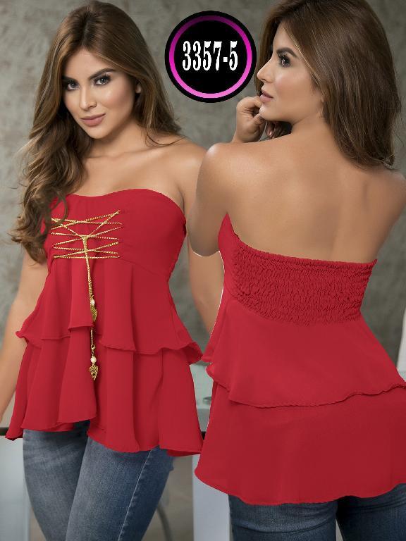 Blusa Moda Colombiana Thaxx  - Ref. 119 -3357-5