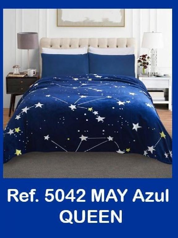 Cobija Q Azul - Ref. 272 -5042-5 Q Azul