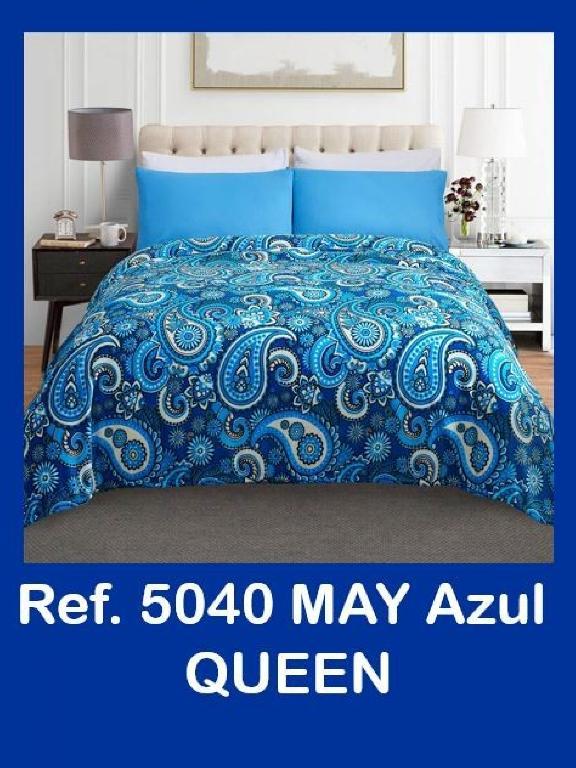 Cobija Q Azul - Ref. 272 -5040-5 Q Azul