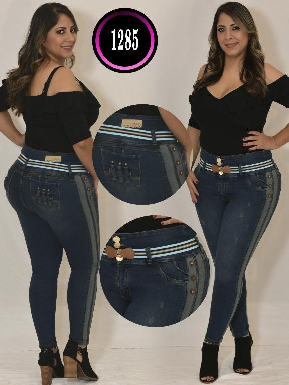 Colombian Butt lifting Jean - Ref. 119 -1285TB Plus Size