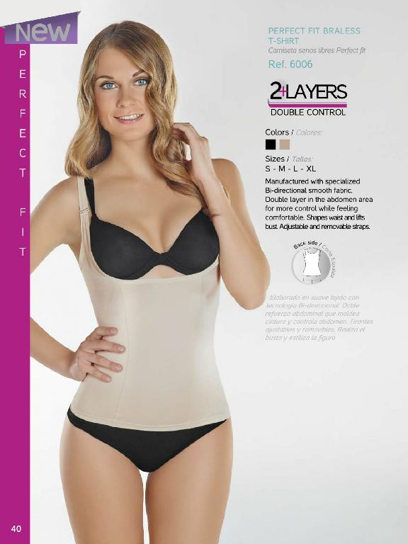 Double Layer In The Abdomen Area For More Control While Feeling Comfortable - Ref. 136 -6006