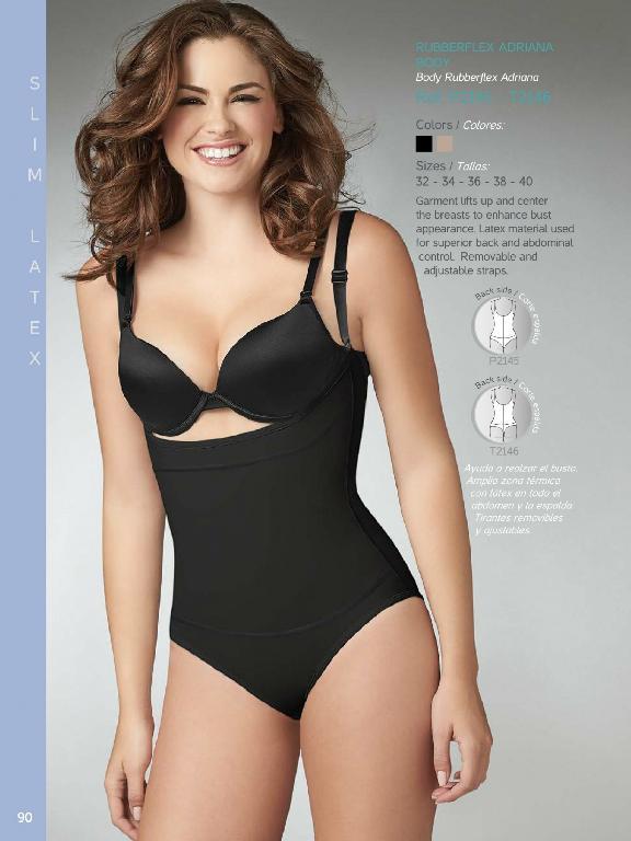 Thong-Rubberflex Adriana Body - Ref. 136 -2146