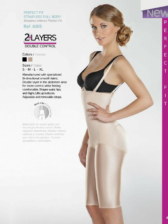 Strapless Full Body Perfect - Ref. 136 -6005