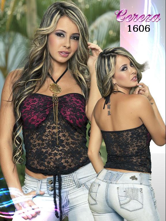 Blusa Moda Cereza - Ref. 111 -1606
