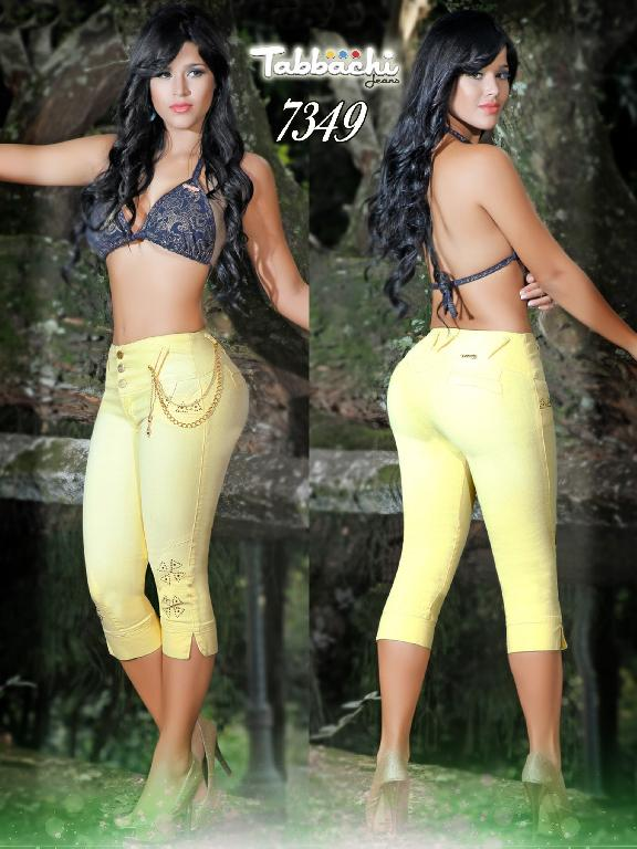 Capri Jeans Levantacola Colombianos  - Ref. 101 -7349