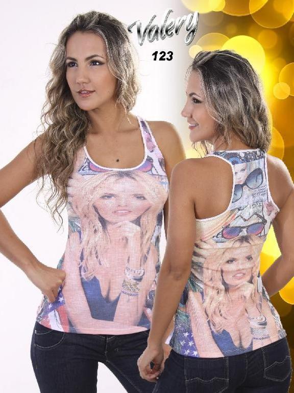 Blusa Moda Valery - Ref. 103 -5123B
