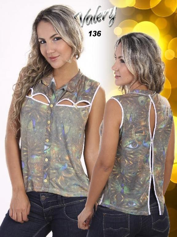Blusa Moda Valery - Ref. 103 -5136