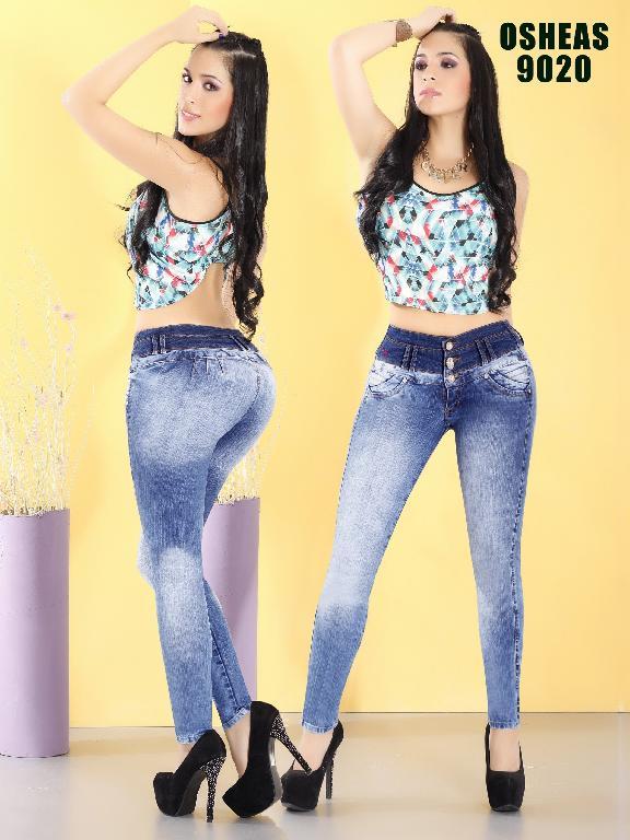 Jeans Levantacola Colombiano Osheas - Ref. 103 -9020