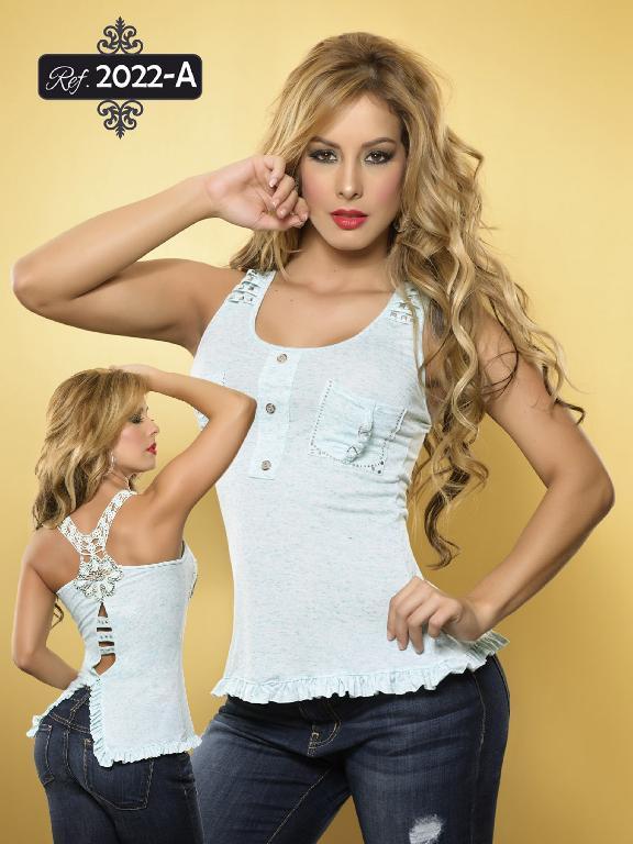 Blusa Moda Cereza - Ref. 111 -2022
