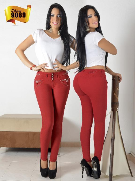 Jeans Levantacola Colombiano Osheas  - Ref. 103 -9069