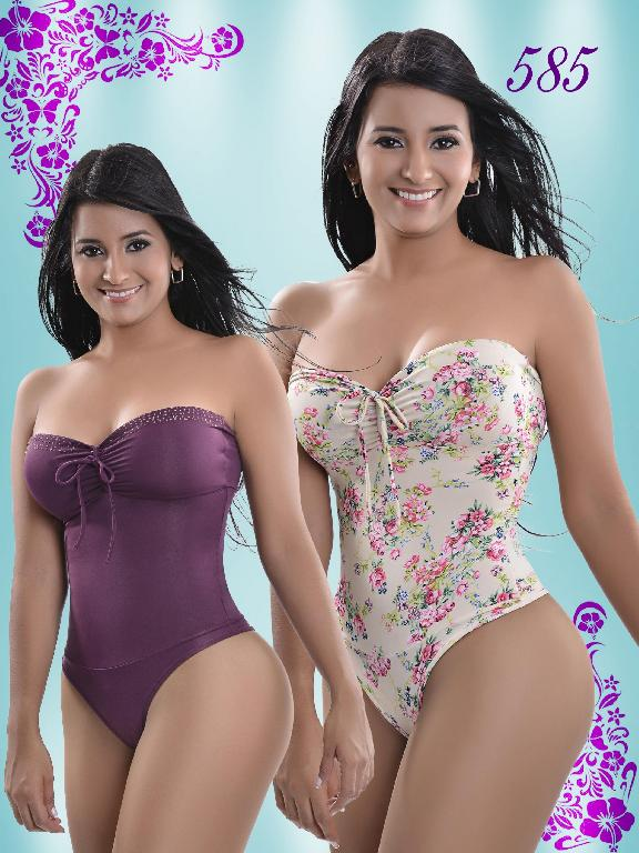Body Reductor Colombiano Knela VIP - Ref. 107 -585