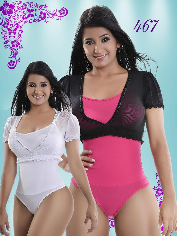 Body Reductor Colombiano Knela VIP - Ref. 107 -467