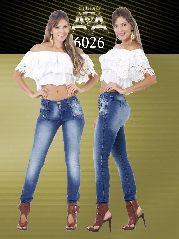 Jeans Fashion Women Studio AA - Ref. 127 -6026