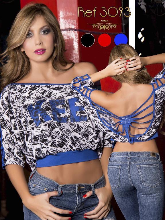 Blusa Moda Colombiana Thaxx - Ref. 190 -3093