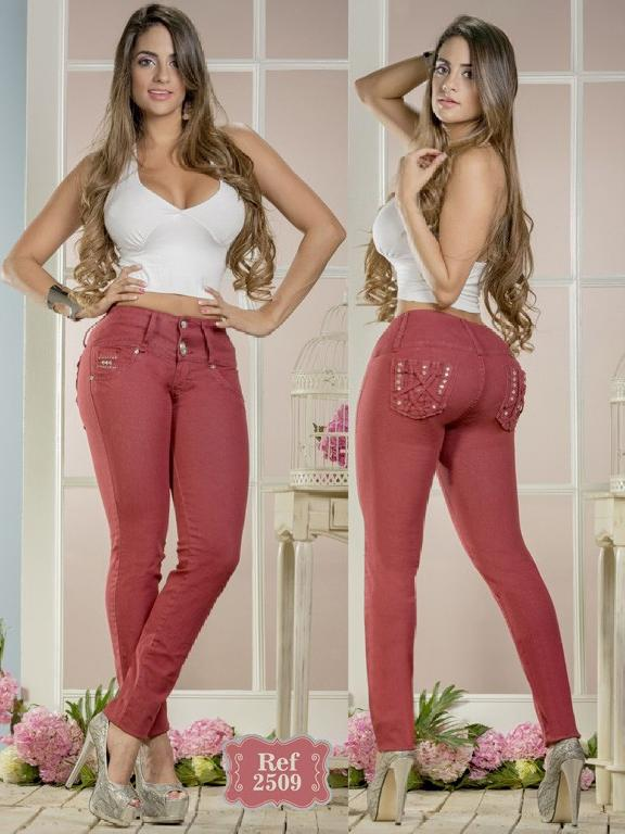 Jeans Levantacola Colombiano Capellini Boutique  - Ref. 106 -2509