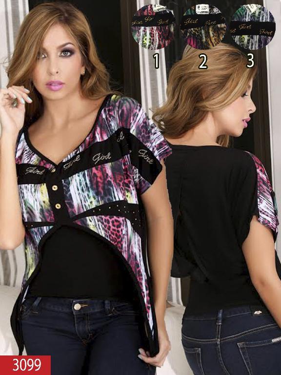 Blusa Moda Thaxx - Ref. 150 -30993