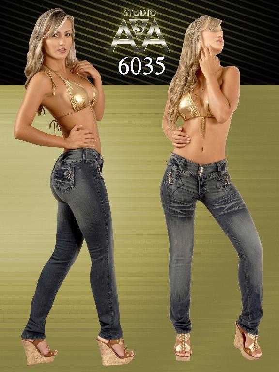 Jeans Fashion Women Studio AA - Ref. 127 -6035