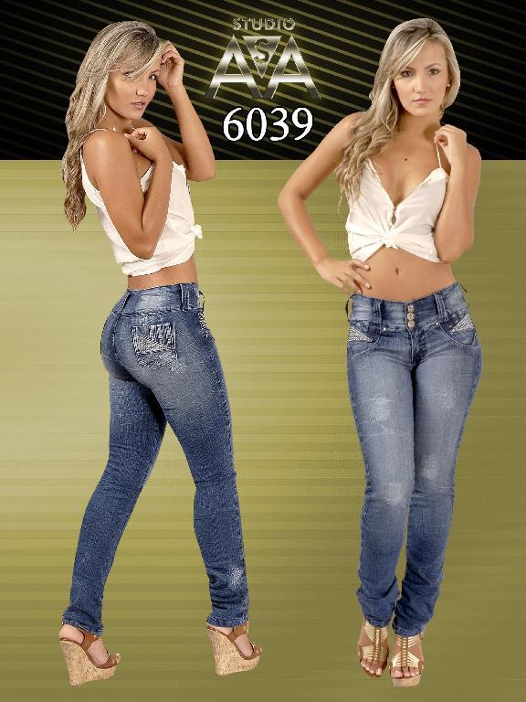 Jeans Fashion Women Studio AA - Ref. 127 -6039