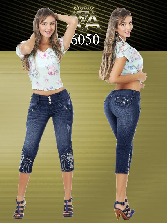 Fashion Women Capri  Studio AA - Ref. 127 -6050
