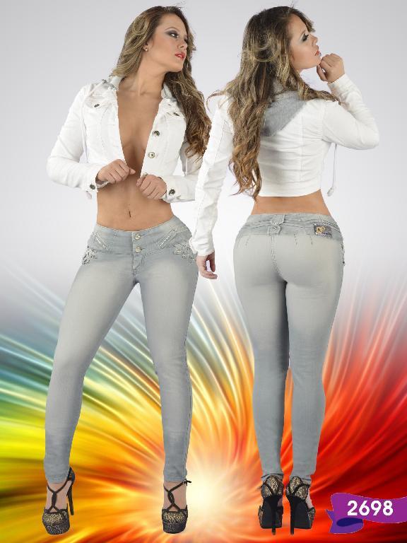 Jeans Levantacola Colombiano Studio AA