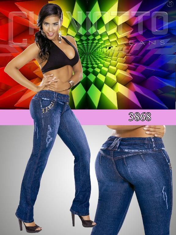 Fashion Women Jeans - Ref. 101 -3868