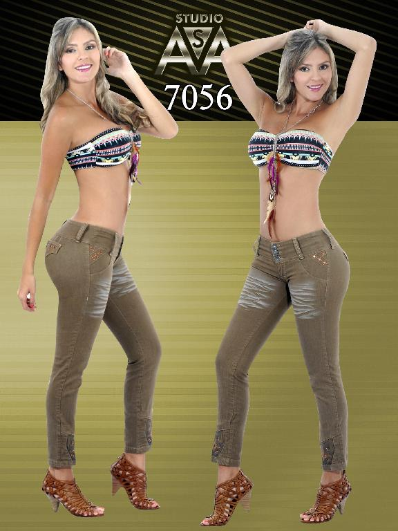 Fashion Women Jeans - Ref. 127 -7056