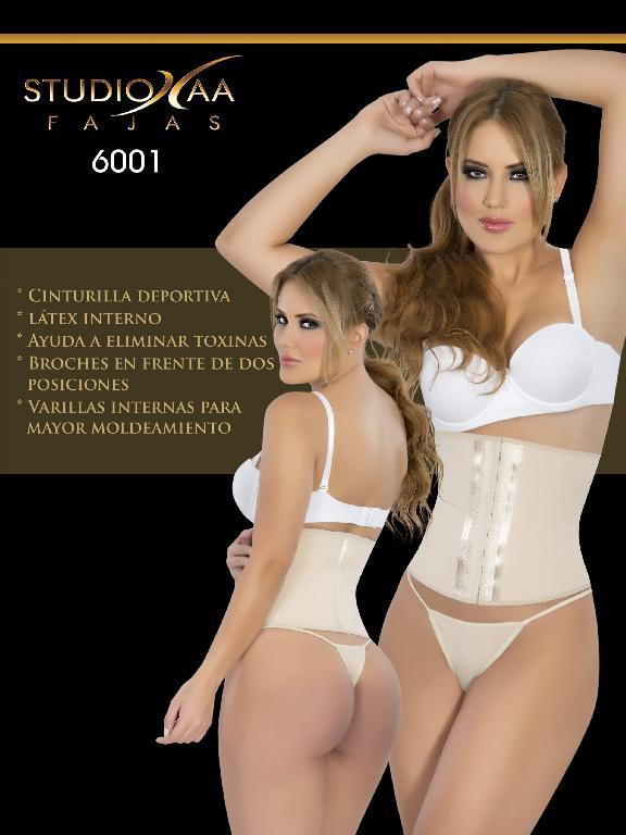 Faja Colombiana Studio AA - Ref. 110 - 6001 Negra