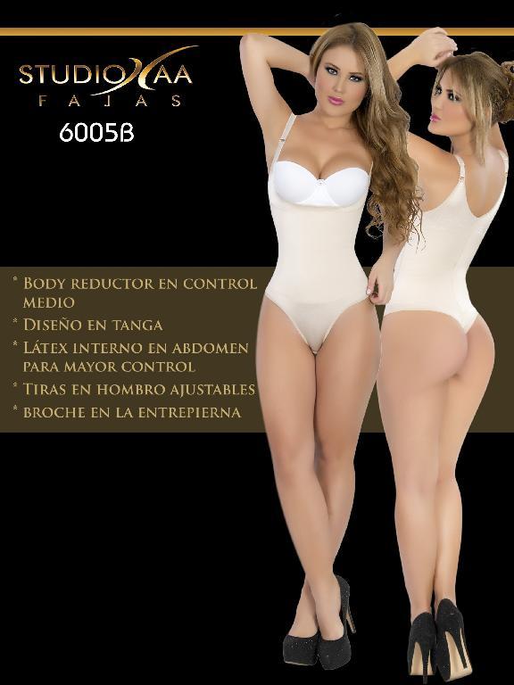 Faja Colombiana Studio AA - Ref. 110 -6005 Tanga Beige