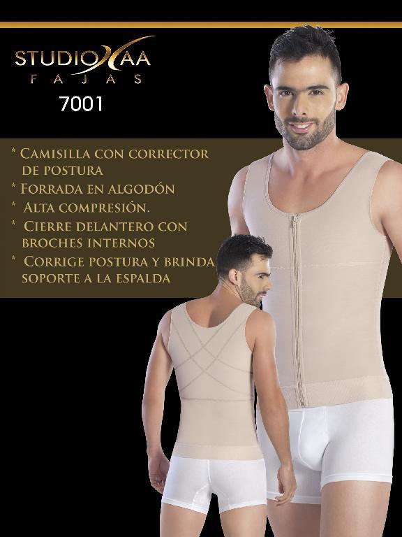 Faja Colombiana Studio AA - Ref. 110 -7001 Beige