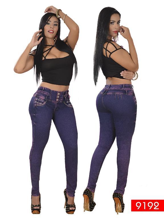 Jeans Levantacola Colombiano Osheas  - Ref. 103 -9192