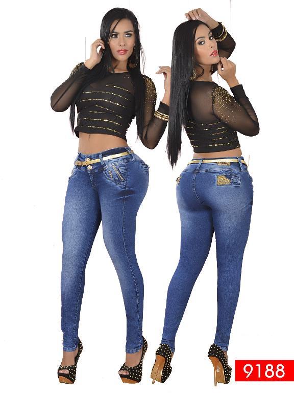 Jeans Levantacola Colombiano Osheas  - Ref. 103 -9188