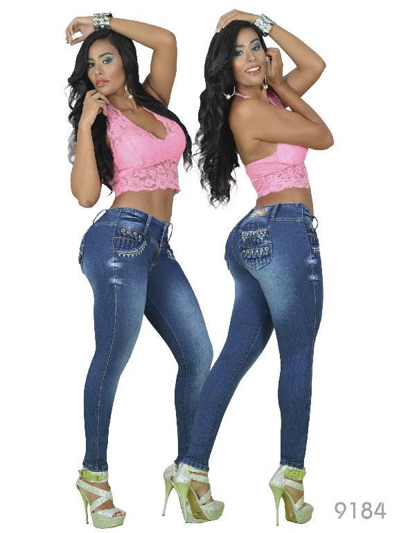 Jeans Levantacola Colombiano Osheas - Ref. 103 -9184