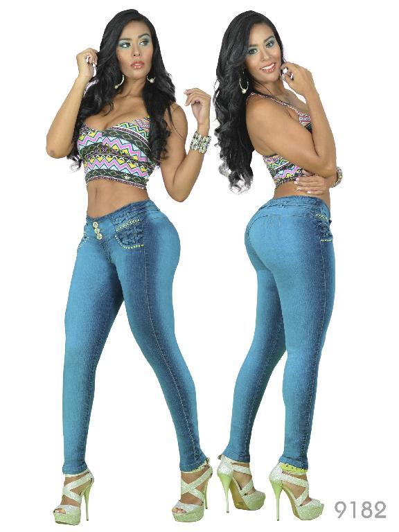 Jeans Levantacola Colombiano Osheas - Ref. 103 -9182