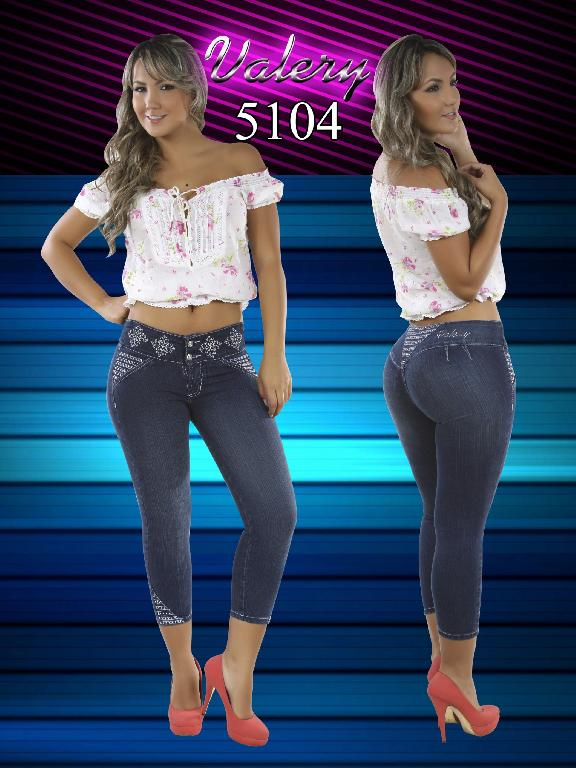 Jeans Women Fashion Valery - Ref. 103 -5104