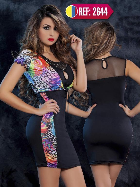 Vestido Moda Cereza  - Ref. 111 -2644