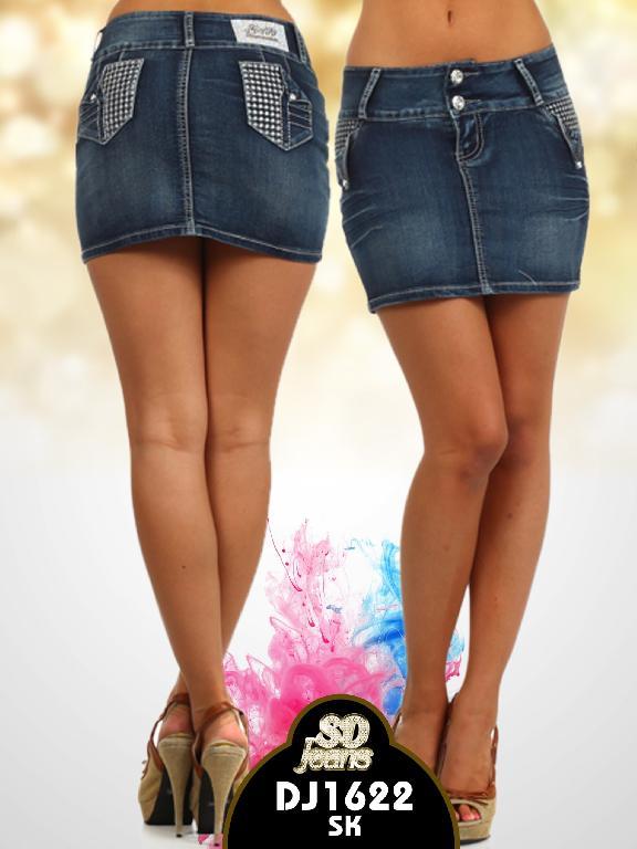 Falda SD Jeans  - Ref. 108 -1622SK