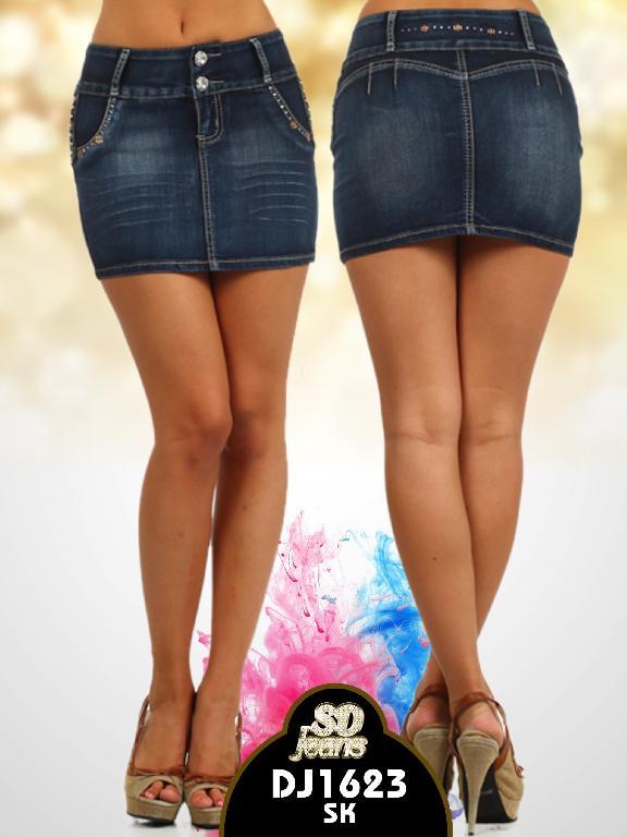 Falda SD Jeans  - Ref. 108 -1623SK