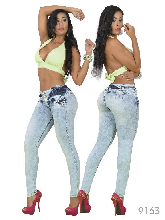 Jeans Levantacola Colombiano Osheas - Ref. 103 -9163
