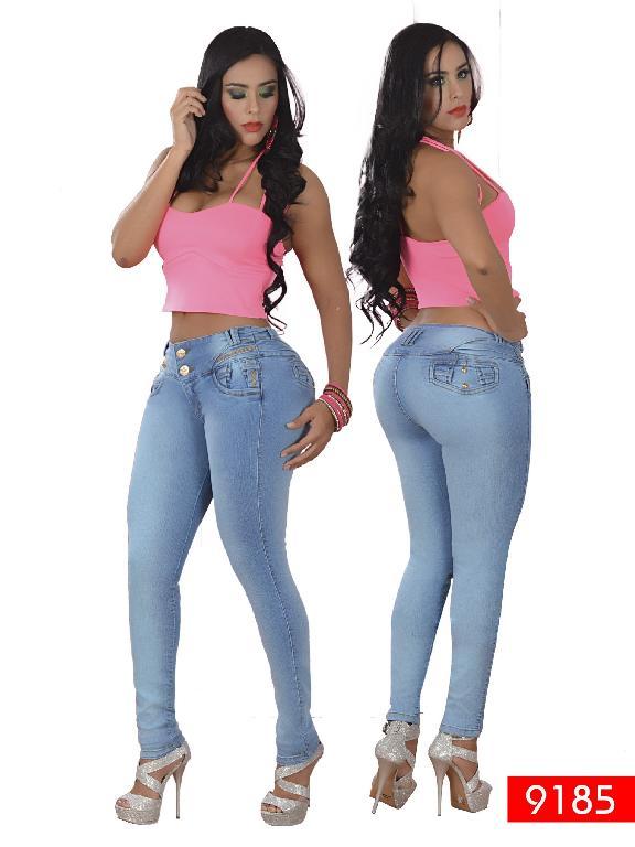 Jeans Levantacola Colombiano Osheas - Ref. 103 -9185