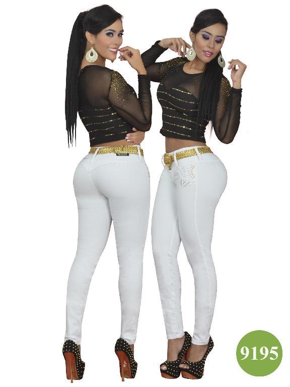 Jeans Levantacola Colombiano Osheas  - Ref. 103 -9195