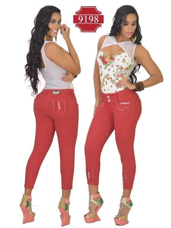 Jeans Colombiano Levantacola Osheas  - Ref. 103 -9198