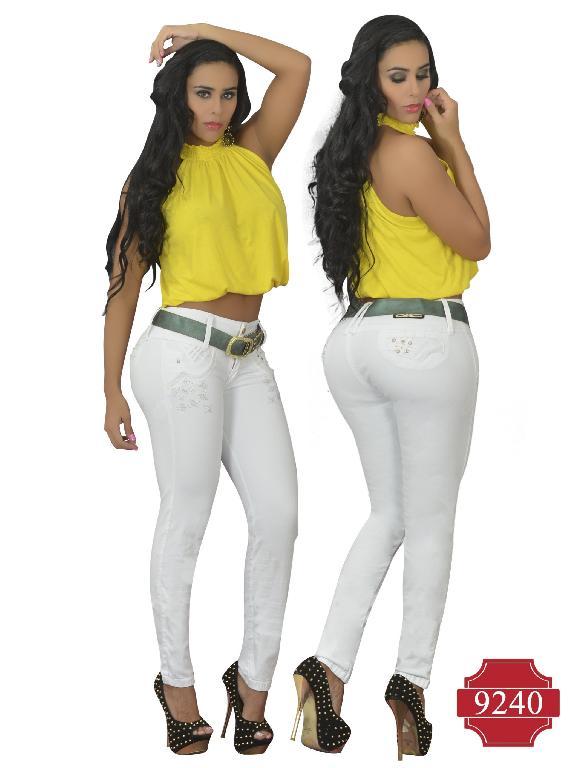Jeans Colombiano Levantacola Osheas  - Ref. 103 -9240